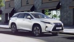 Lexus RX 450 hL : les tarifs de la version 7 places