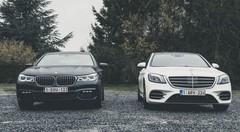 Essai Mercedes Classe S vs BMW Série 7