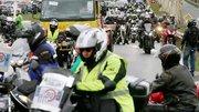 80 km/h : des milliers de motards contre la « sécurité rentière »