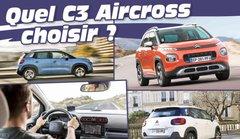 Guide neuf : tous les Citroën C3 Aircross à l'essai ! Lequel choisir ?