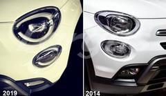 Fiat 500X : première photos du SUV Fiat 500X restylé