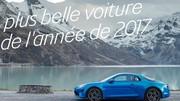 L'Alpine A110 élue plus belle voiture de l'année