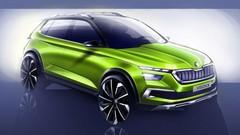 Škoda Vision X : concept hybride précurseur
