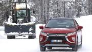 Essai Mitsubishi Eclipse Cross S-AWC 4WD : Un diamant brut des neiges