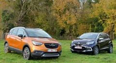 Essai Opel Crossland X vs Renault Captur : Nouvelle salve !