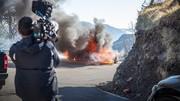 Une Alpine A110 termine en cendres sur le tournage de Top Gear (BBC)
