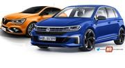 Future Volkswagen Golf 8 R (2020) vs Renault Mégane RS : la guerre est déclarée