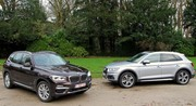 Essai Audi Q5 2.0 TDI vs BMW X3 20d : La guerre des clones !
