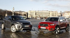 Essai : le Volvo XC40 défie le Land Rover Evoque