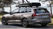 Volvo V60 : En fuite avant Genève