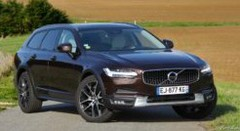 Essai Volvo V90 Cross Country Luxe D5 AWD : Le break de luxe tout-chemins