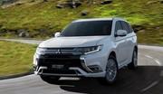 Mitsubishi Outlander PHEV : du neuf… sous le capot !