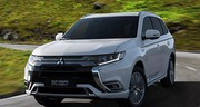Gros progrès techniques pour le Mitsubishi Outlander PHEV