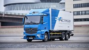 Mercedes lance son camion électrique