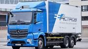 10 poids lourds Mercedes eActros entrent en service