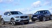 Essai Volvo XC40 et Range Rover Evoque : les alternatives chic