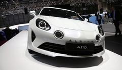 Les Alpine A110 Pure et Légende au salon de Genève 2018