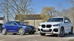 Essai BMW X3 et Alfa Romeo Stelvio : les SUV plaisir