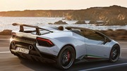 Lamborghini Huracan Performante Spyder : infos et photos officielles