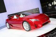 Lexus LF-A roadster : roquette découvrable