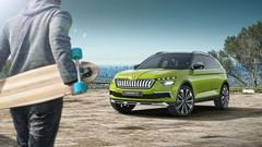 Škoda Vision X : hybride CNG