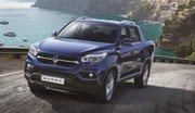 SsangYong Musso Sports : le Rexton, en mode pick-up