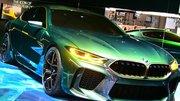 BMW Concept M8 Gran Coupé : nos photos depuis le salon de Genève