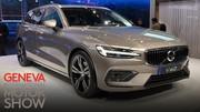 Volvo V60, avant la berline, Volvo dévoile à Genève la nouvelle version du break