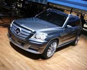 Mercedes Vision GLK Bluetech Hybrid : L'éclaireur hybride