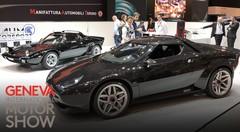 A Genève, MAT a exposé sa (Lancia) Stratos remise au goût du jour