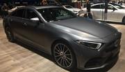 Mercedes CLS: sexy ! - Vidéo en direct du salon de Genève 2018