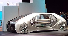 Renault EZ-GO, un concept hors sujet à Genève