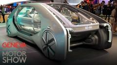 Renault EZ-GO : un robot-véhicule électrique conçu pour le transport en ville
