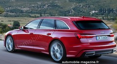 La future Audi A6 bientôt déclinée en break Avant