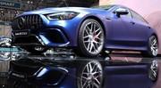 Mercedes AMG GT 4 portes : nouvel avion de chasse