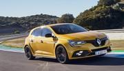 Les 4 roues directrices de la Renault Mégane R.S