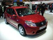 La Dacia Sandero à Genève
