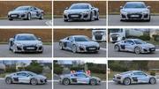 Audi R8 restylée : un V6 au programme !