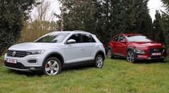 Essai Hyundai Kona vs Volkswagen T-Roc : forts en gueule !