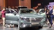 Le nouveau Touareg de Volkswagen pris d'assaut