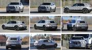 Mercedes EQC : espionné sur la route