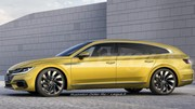 Volkswagen Arteon Shooting Brake (2019), la VW Arteon s'offre un break