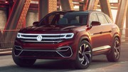 Volkswagen Atlas Cross Sport Concept : 5 places