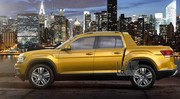 Volkswagen Atlas : une vision de pick-up exposée à New York