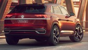 Volkswagen Atlas Cross Sport et Tanoak pick-up : America first