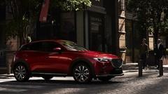 Léger restylage pour le petit SUV Mazda CX-3