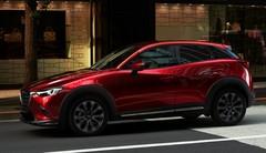 Léger restylage pour le Mazda CX-3