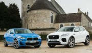 Essai : Le BMW X2 20d défie le Jaguar E-Pace D180