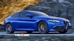 Future Alfa Romeo Giulia Coupé : un V6 de plus de 600 ch