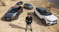 Essai : Le Seat Arona affronte les Citroën C3 Aircross, Peugeot 2008 et Renault Captur